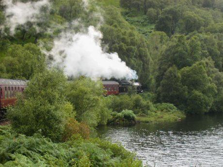 Scozia e Londra 2015 - Treno di Harry Potter