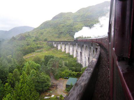 Scozia e Londra 2015 - Treno Harry Potter, Glenfinnan viaduct