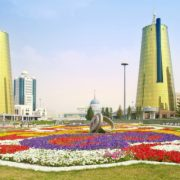 Photo of the capital of the Republic of Kazakhstan. Astana City
