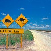 Australia segnali stradali